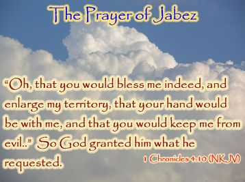 The Prayer of Jabez   Stick With Jesus