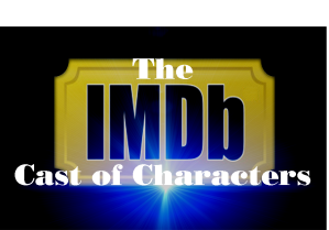 IMDb Cast of Characters Logo