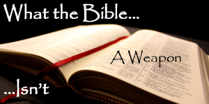 What the Bible Isnt Week 4