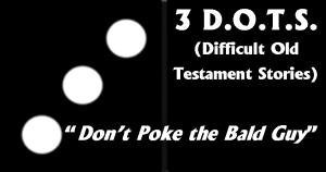 Three Dots Bald Guy