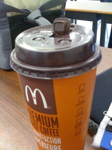 McDonalds cup