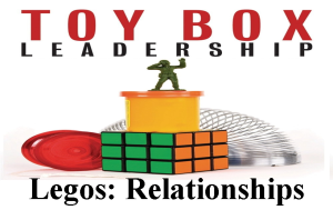 Toy Box Leadership Legos Relationships