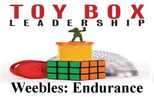 Toy Box Leadership Weebles Endurance