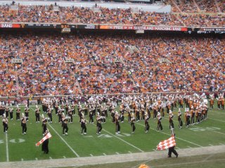 This marching band was crazy good
