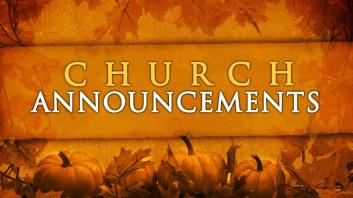 Fall-Announcements
