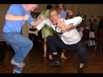 crazy guy dancing