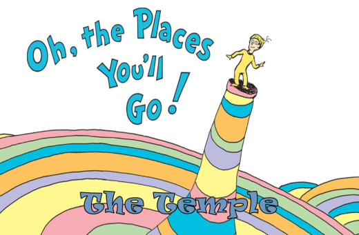 The Places You'll Go Temple